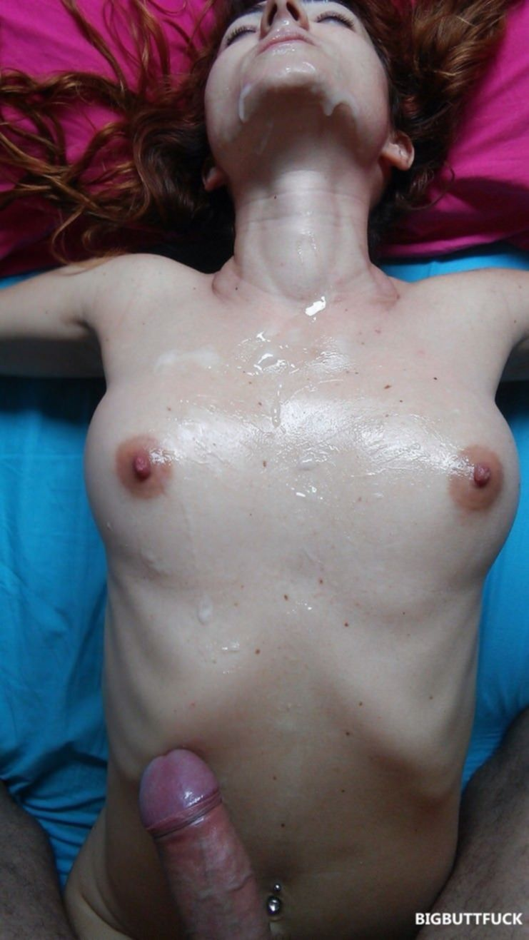 Фото подборка камшотов спермы на лица девушек