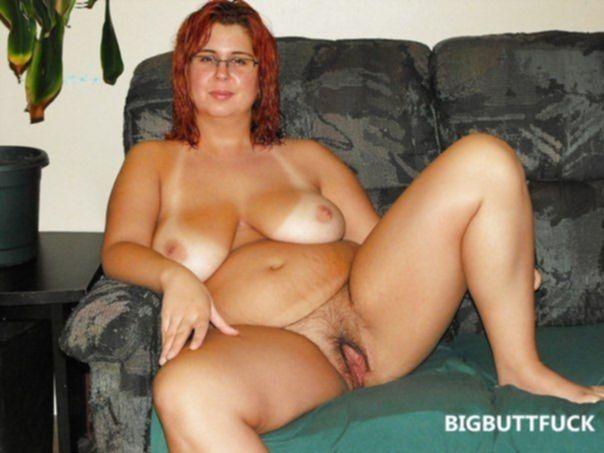 Подборка домашних фото голых толстушек